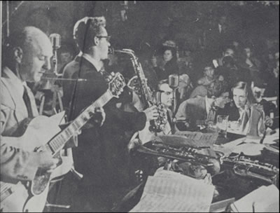 Lennie Tristano, Lee Konitz and Billy Bauer