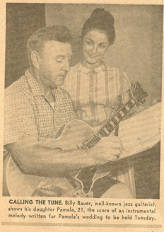 Billy Bauer, well-known Jazz Guitarist, wrote the song Wedding Ceremony for his daughter